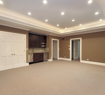 Unfinished Basement Conversion To Living Area