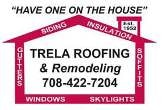 Trela Roofing and Remodeling logo