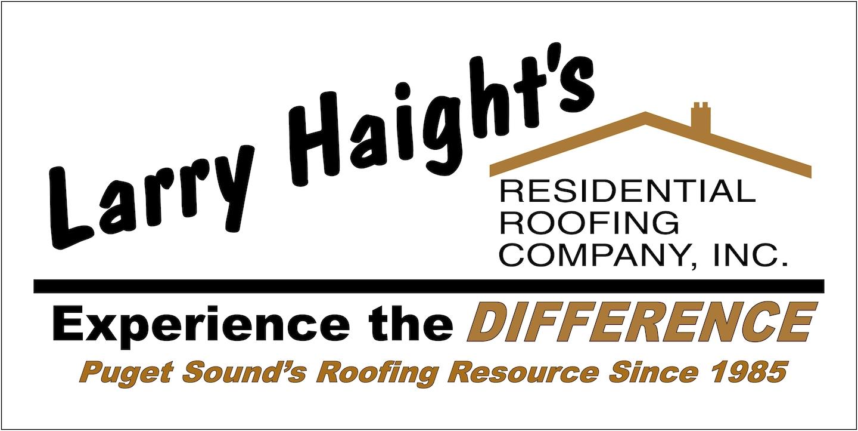 Larry Haight's Residential Roofing Co logo