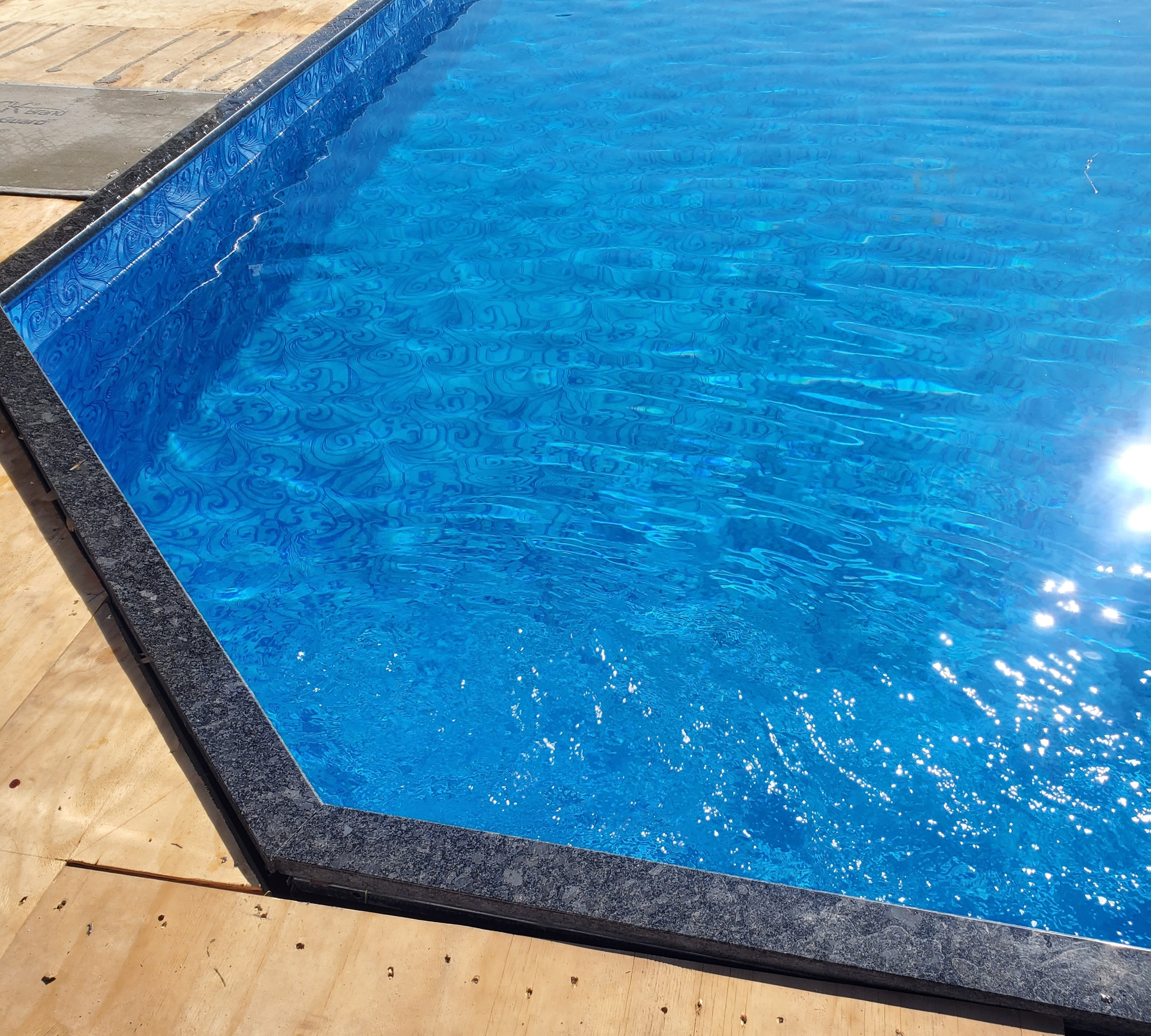 Above ground Pool Build - Winthrop