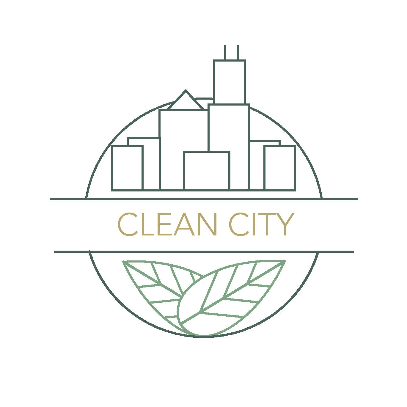 Clean City Waste & Recycling  logo