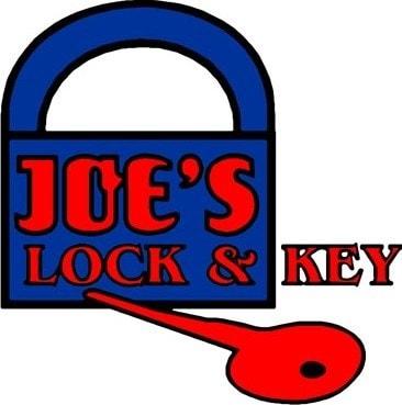Joe's Lock & Key logo