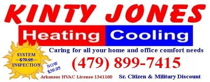 Kinty Jones Heating & Cooling logo