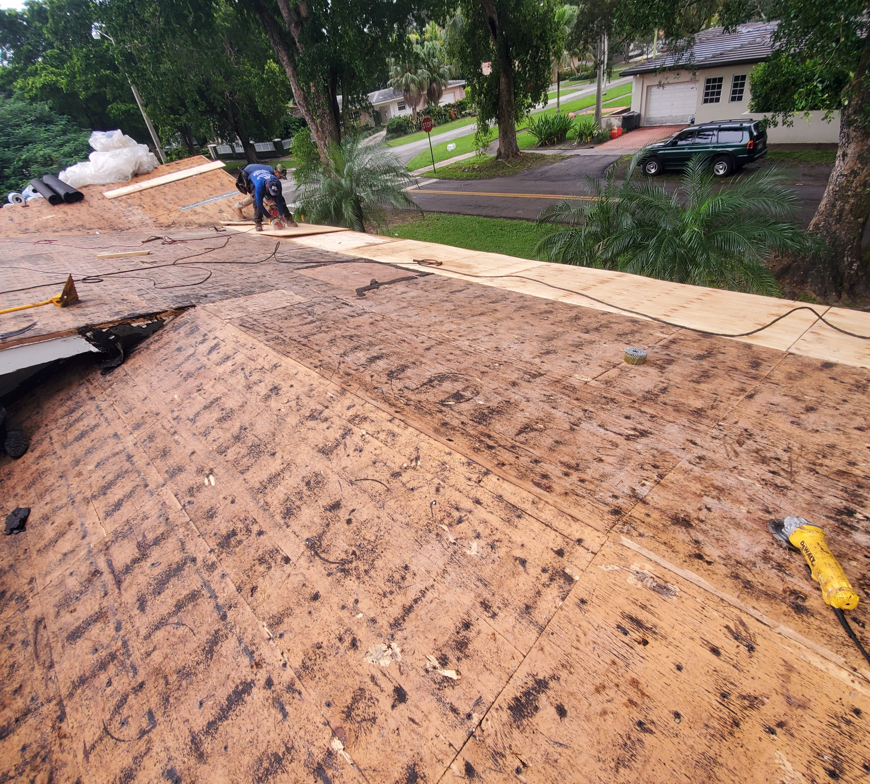 Tile Roof Tear Off
