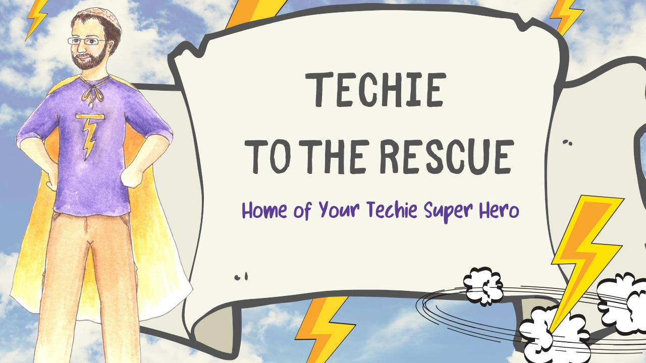 Techie to the Rescue logo
