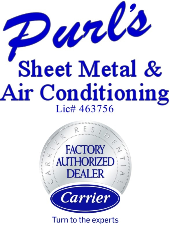 Purl's Sheet Metal & Air Conditioning logo