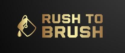 Rush to Brush logo