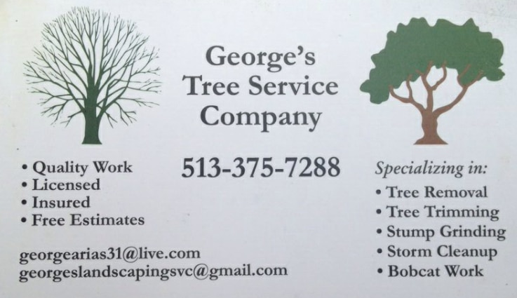 George's Tree & Landscaping Services logo