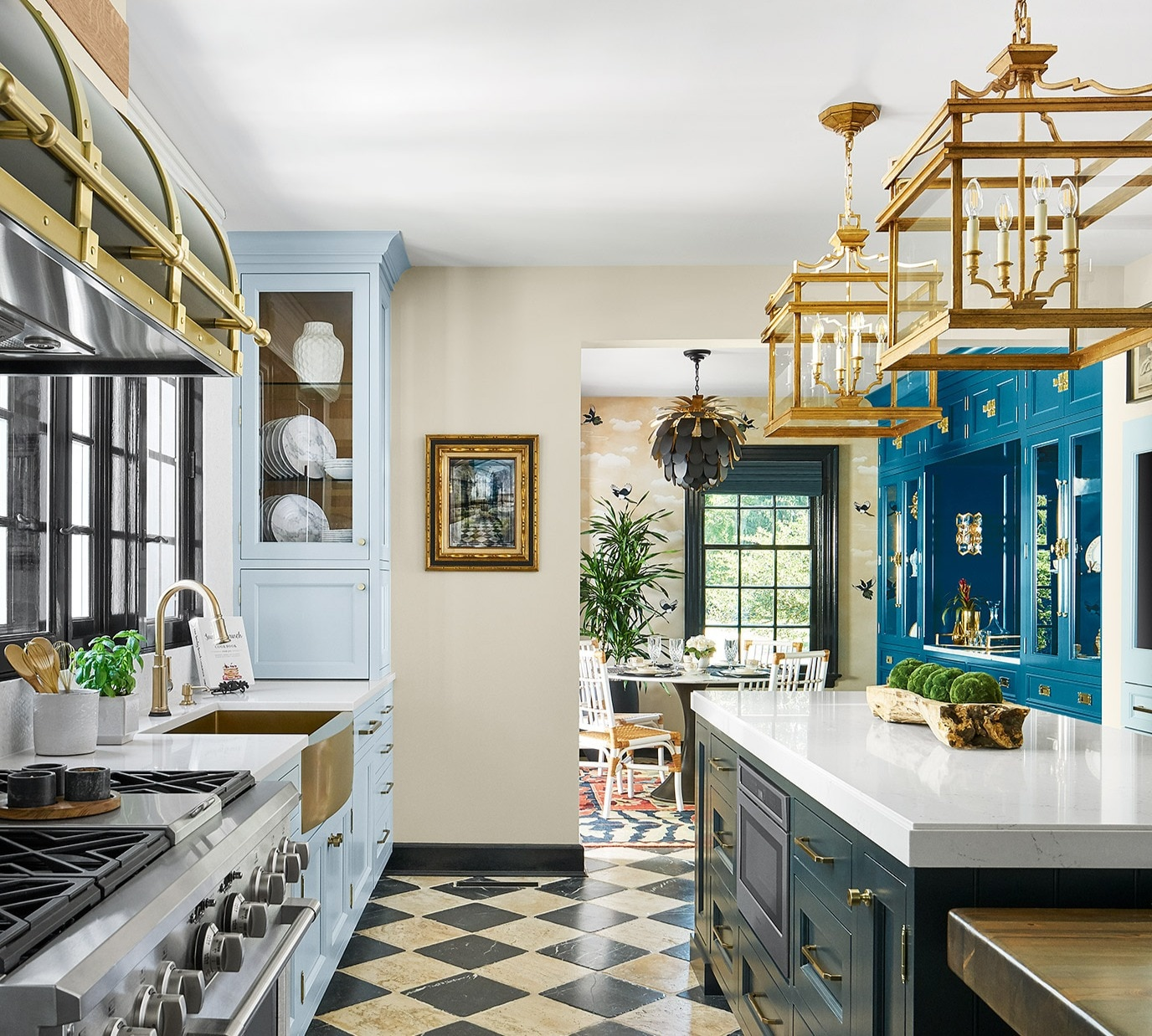 Lake Forest Showhouse Kitchen & Breakfast Room