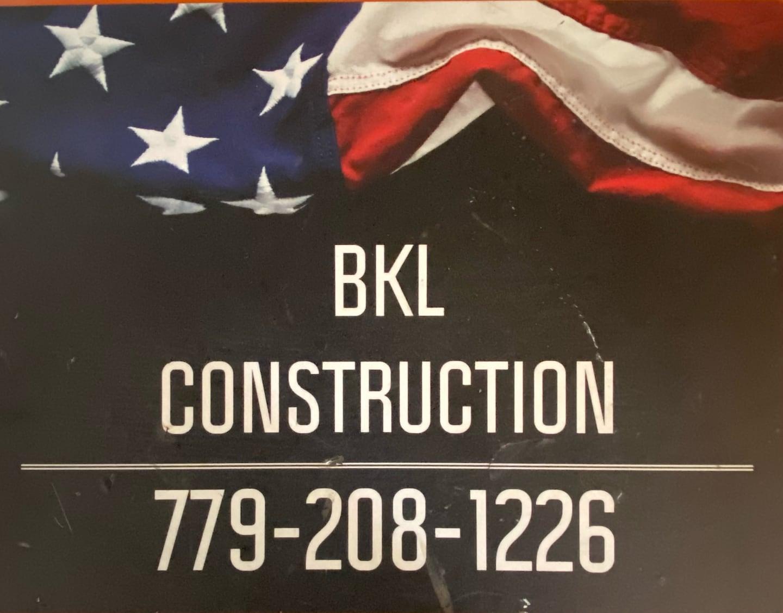 BKL Construction  logo