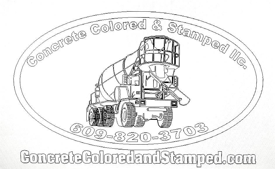 Concrete Color & Stamps, LLC logo