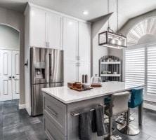 Kitchen Master Hallway Remodel