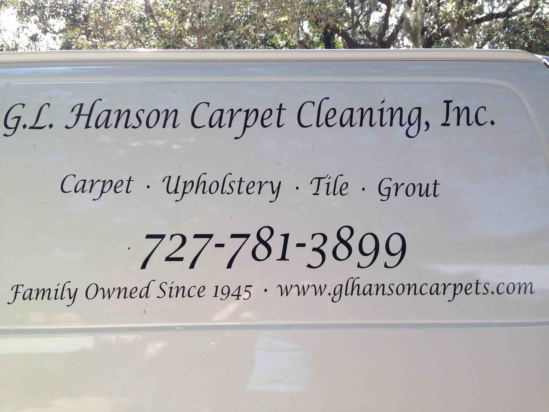 HANSON CARPET CLEANING INC logo