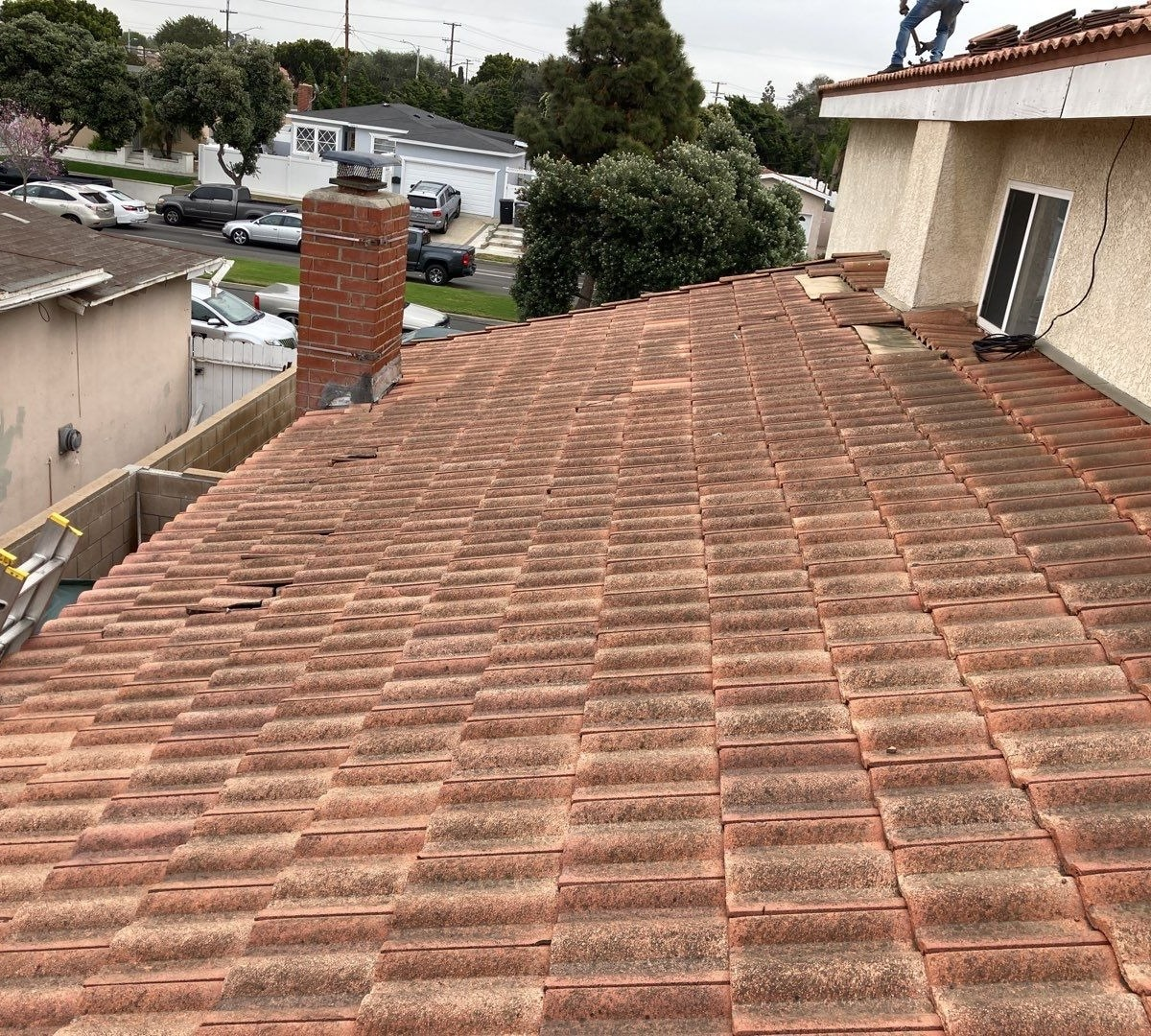 Residential Tile Re-Roof