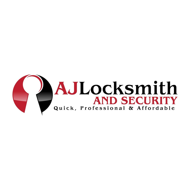 AJ Locksmith and Security logo