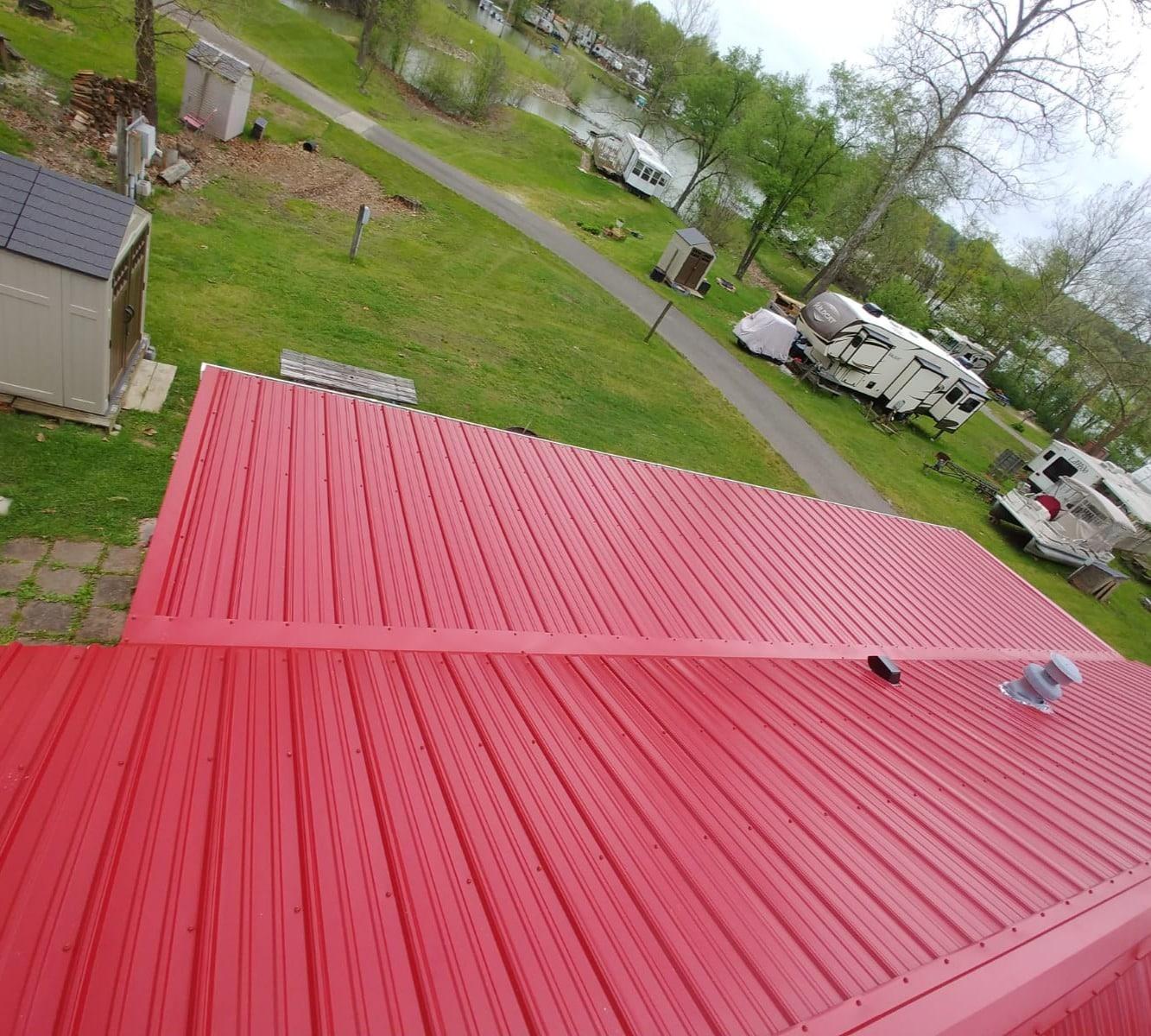 Rib Metal Roof