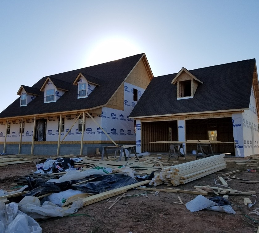 Complete home building