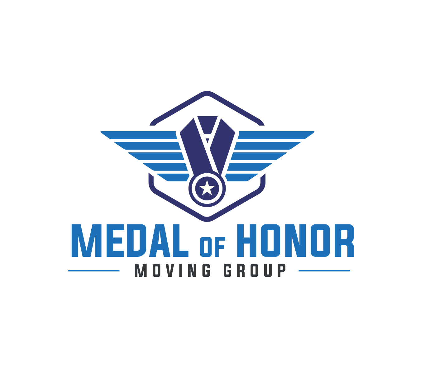 Medal Of Honor Moving Group logo