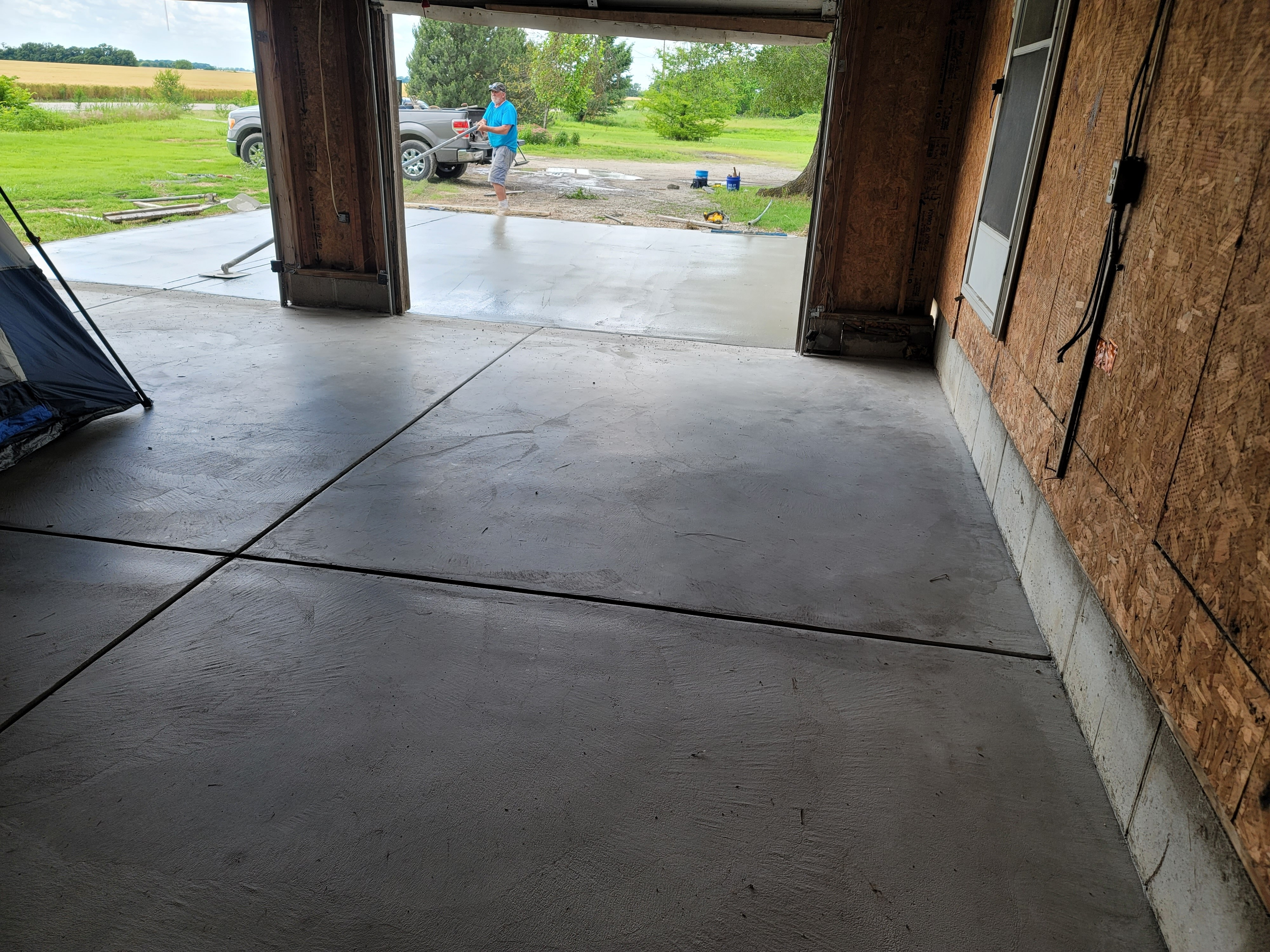 Concrete Pouring and Repair Project