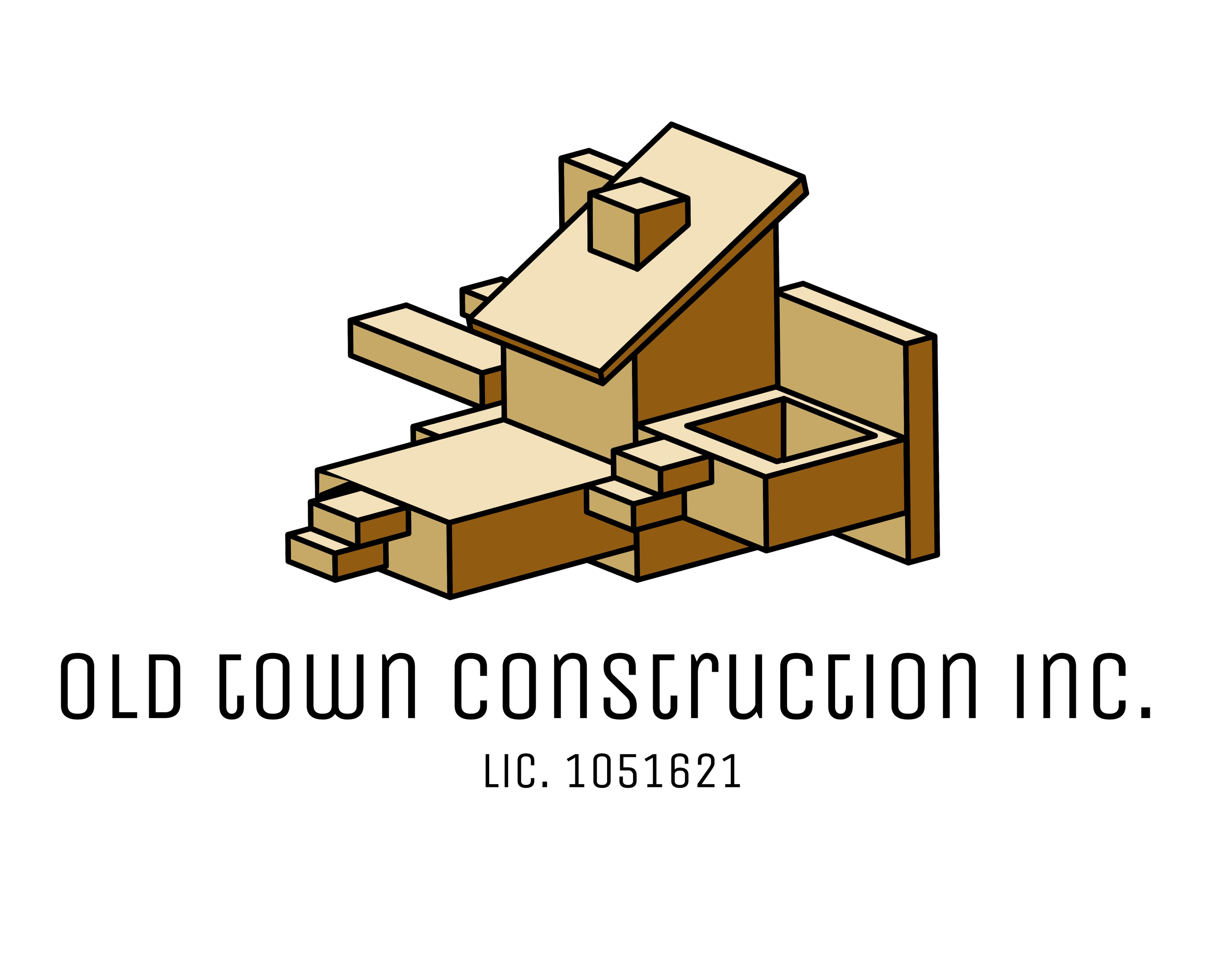 Old Town Construction logo