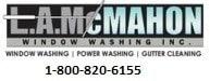 L A McMahon Window Washing Inc logo