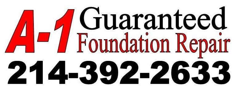 A-1 Guaranteed Foundation Repair logo