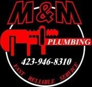 M & M Plumbing logo