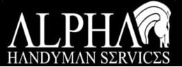 Alpha Handyman logo