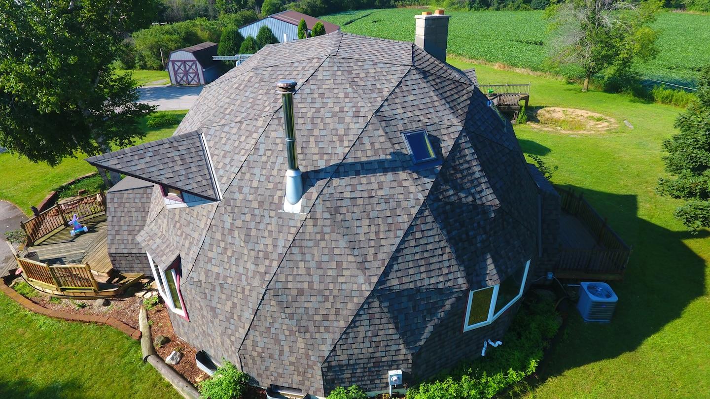 Dome Asphalt Roof