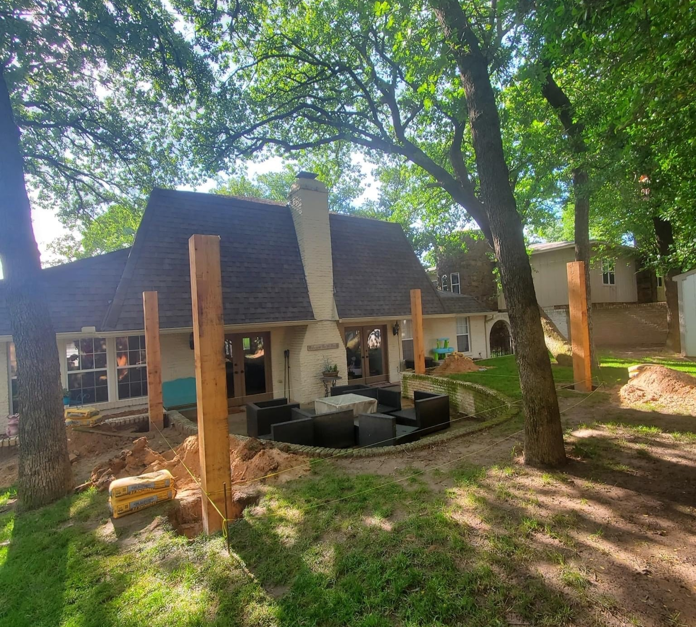 Backyard Renovation 1
