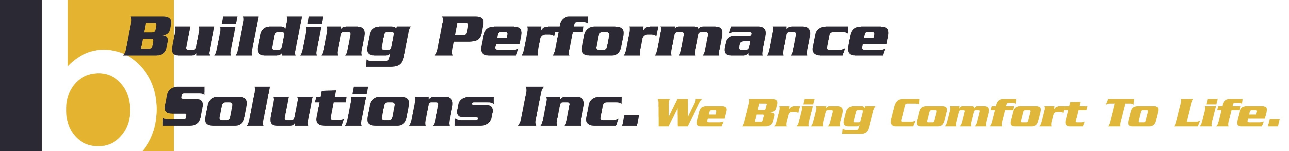 Building Performance Solutions logo