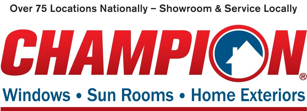 Champion Windows and Home Exteriors of Knoxville logo