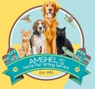 Amshel's Home Pet Sitting Service, LLC logo