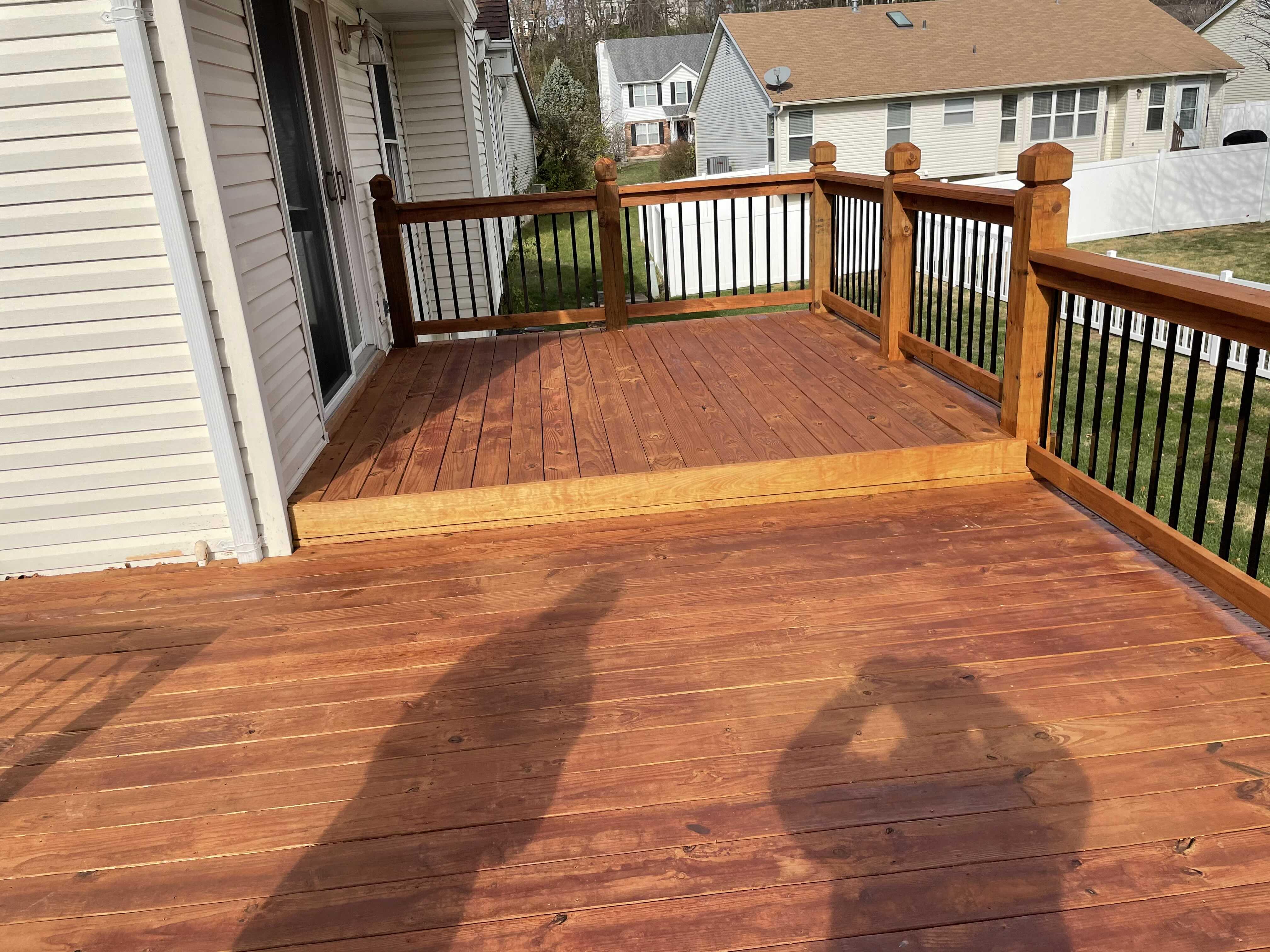 Deck Maintenance Project