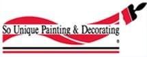 SO UNIQUE PAINTING & DECORATING logo