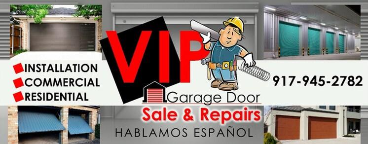 Vip Garage Doors & Gates logo
