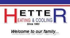 Hetter Heating & Cooling logo