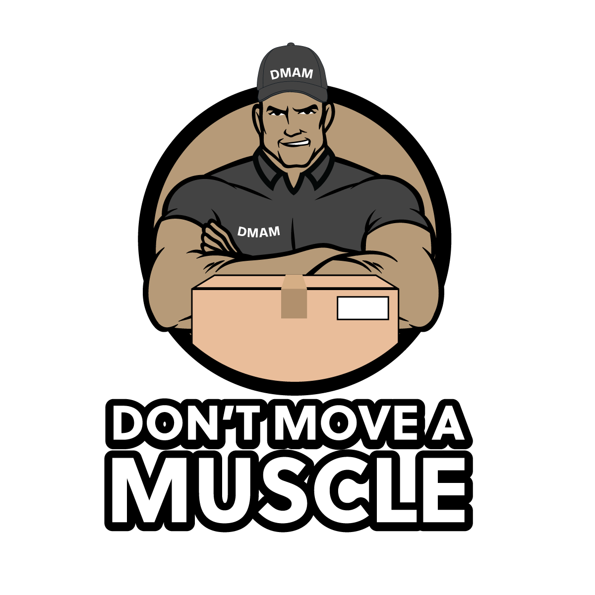 Don't Move A Muscle LLC logo