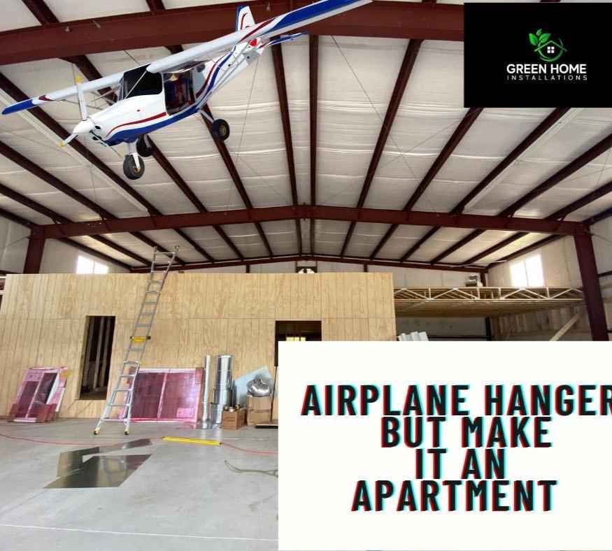 Airplane Hanger Apartment