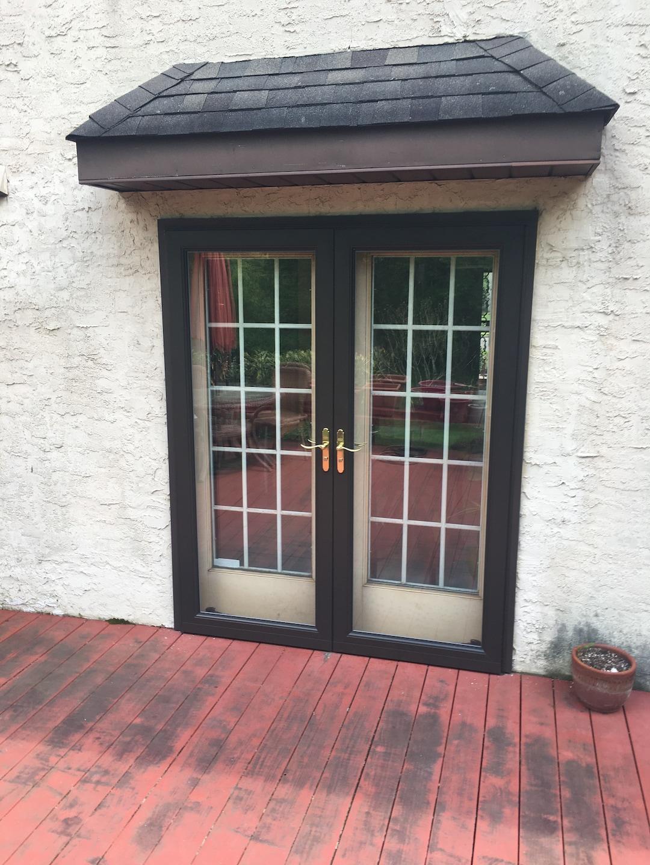 Custom Double Storm Door