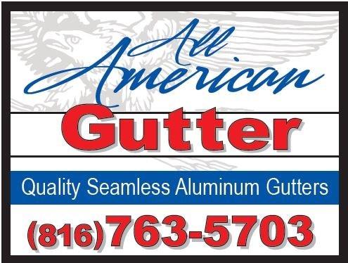 All American Gutter logo