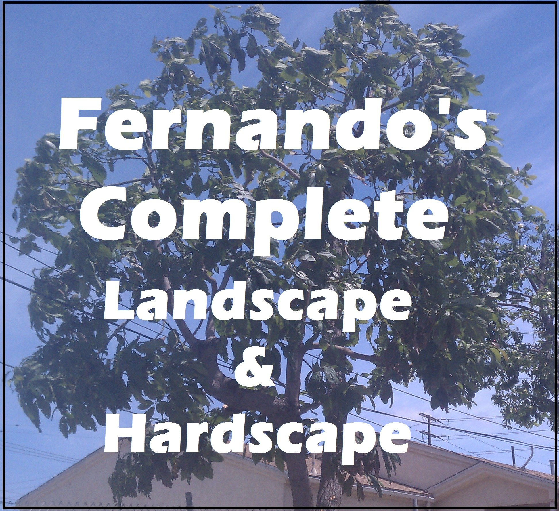 Fernando's Complete Landscape & Hardscape logo