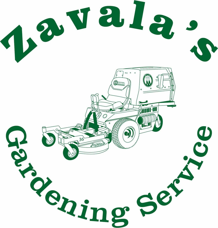 Zavala's Gardening Service logo