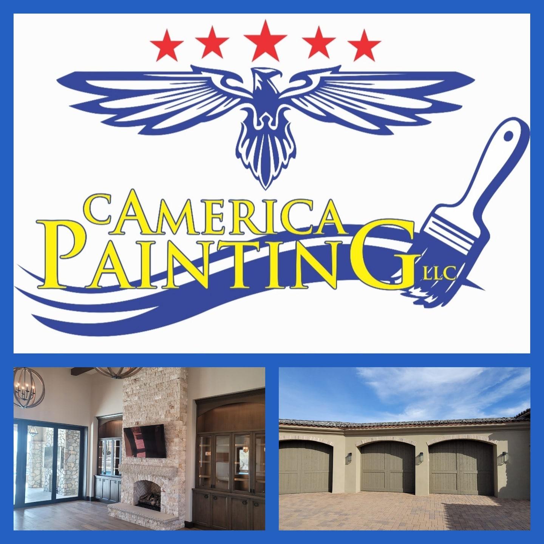 C America Painting logo