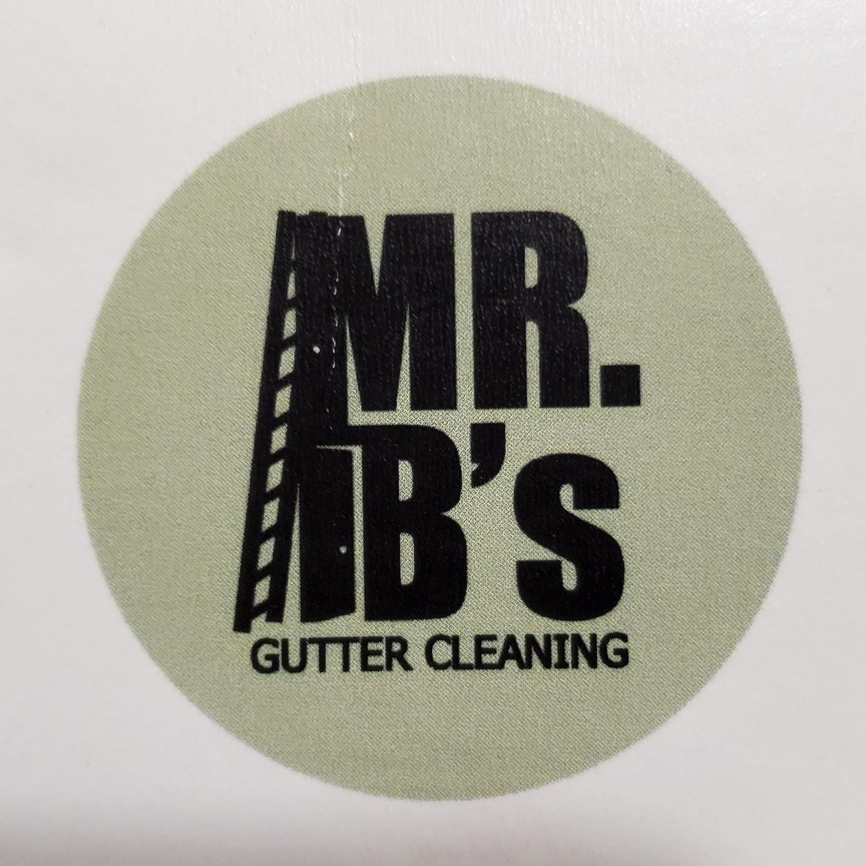 Mr.B's Gutter Cleaning logo