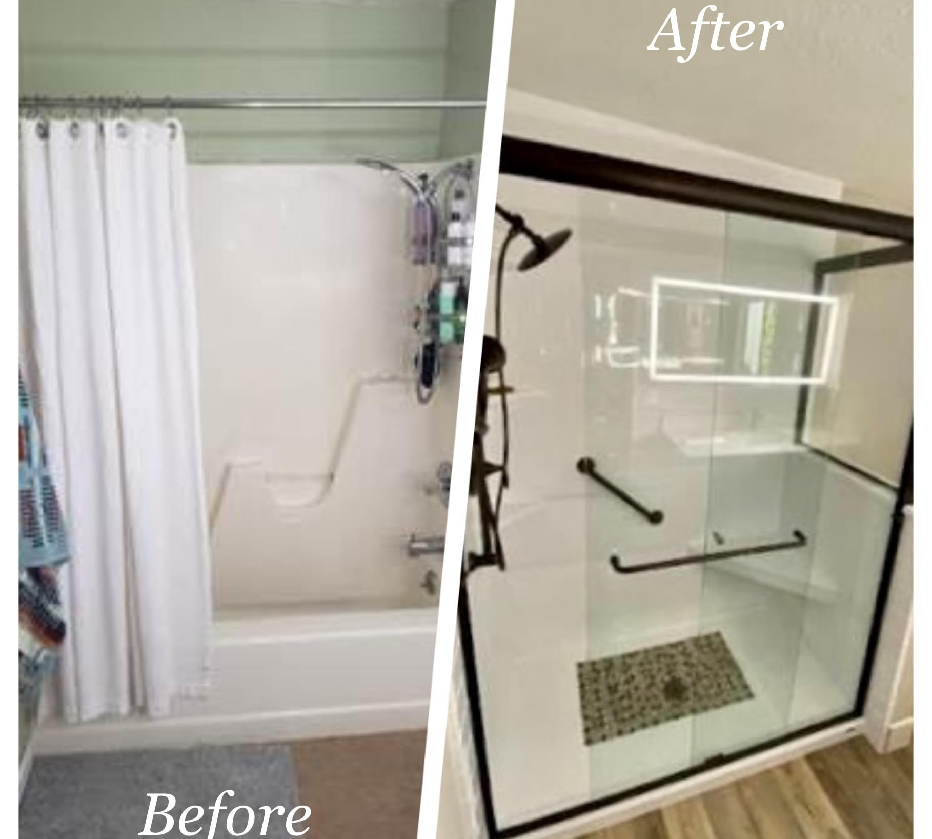 Re-Bath Shower Replacement