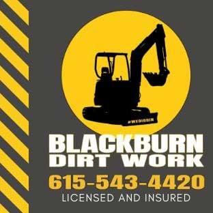 Blackburn Dirt Work, LLC logo
