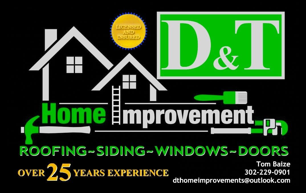 D & T Home Improvements logo
