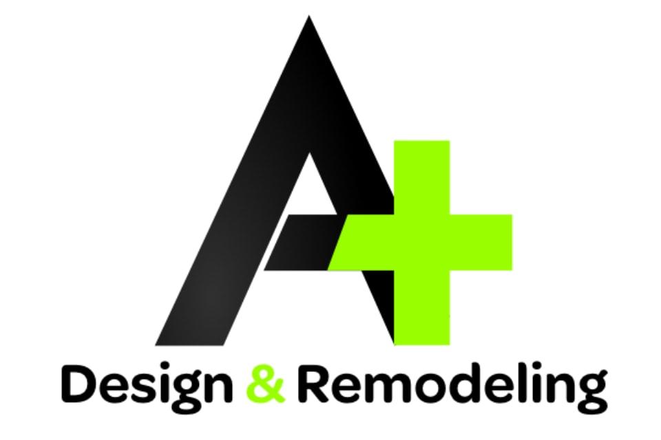 A Plus Design & Remodeling logo