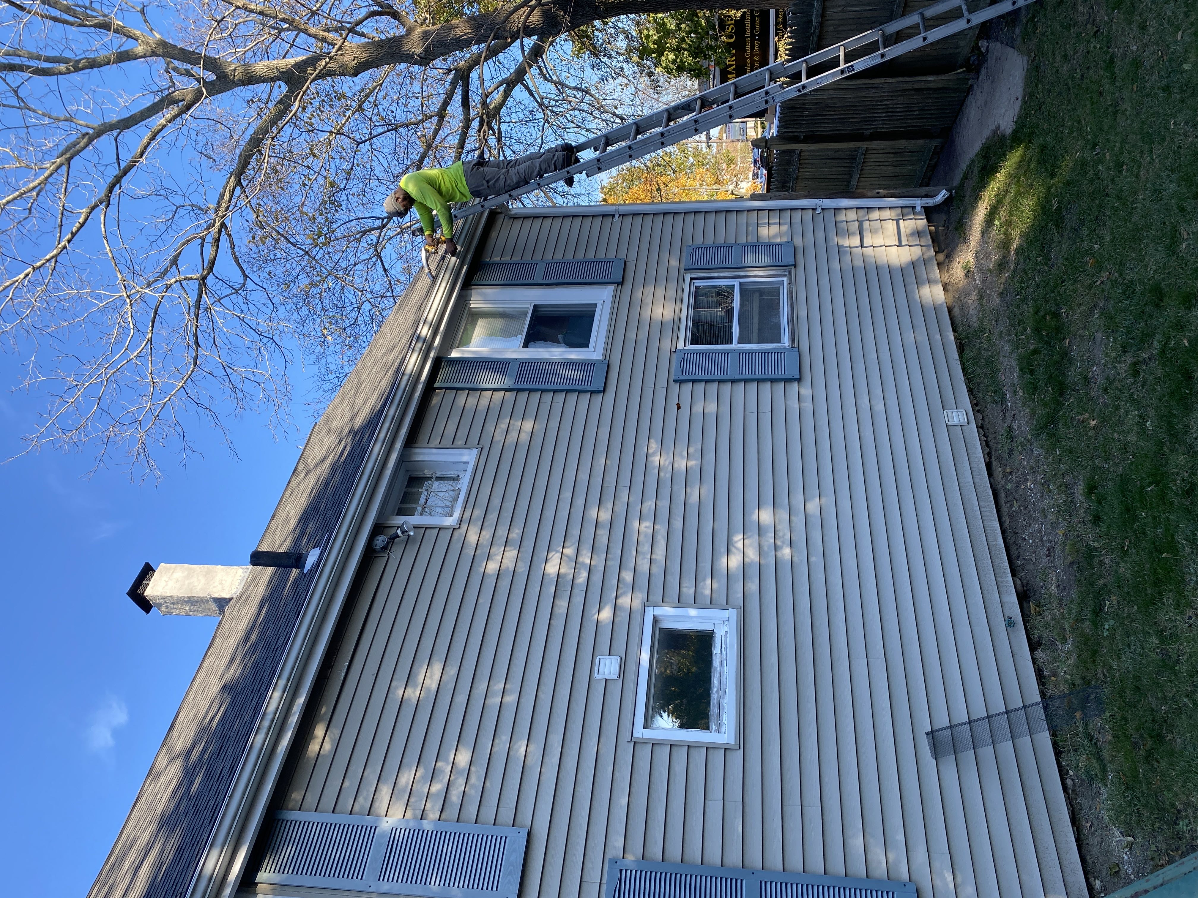 Gutter Cleaning Project